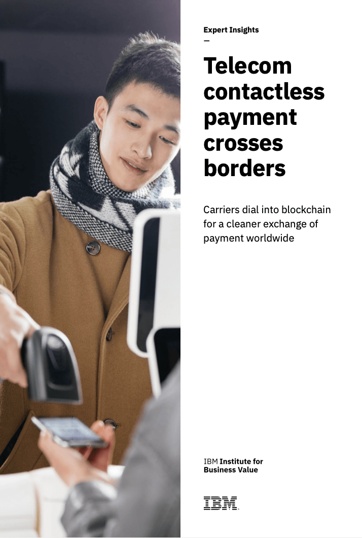 IBM and TBCASoft Publish Joint White Paper on Contactless Payments 2020